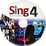 Sing 4: The Hits Edition Wii disc (SIHE4Z)