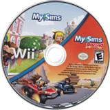 MySims Collection Wii disc (SIME69)