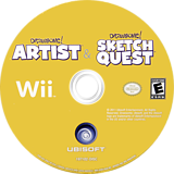 Drawsome! Tablet Wii disc (SIXE41)