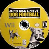 Jerry Rice & Nitus' Dog Football Wii disc (SJCEZW)