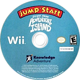 JumpStart Escape from Adventure Island Wii disc (SJEEPK)