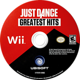 Just Dance Greatest Hits Wii disc (SJHE41)