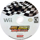 Jimmie Johnson's Anything With An Engine Wii disc (SJJEA4)