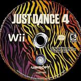 Just Dance 4 Wii disc (SJXE41)
