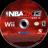 NBA 2K13 Wii disc (SKSE54)