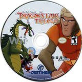 Dragon's Lair Trilogy Wii disc (SL3ENR)