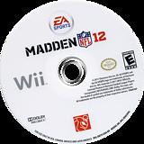 Madden NFL 12 Wii disc (SM7E69)