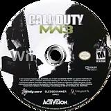 Call of Duty: Modern Warfare 3 Wii disc (SM8X52)