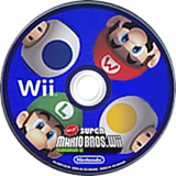 Newer Super Mario Bros. Wii CUSTOM disc (SMNE03)