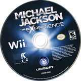 Michael Jackson: The Experience Wii disc (SMOE41)