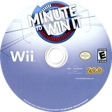 Minute to Win It Wii disc (SMYE20)