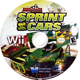 Maximum Racing: Sprint Cars Wii disc (SN8EYG)