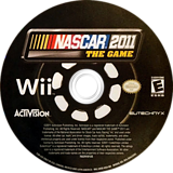 NASCAR 2011: The Game Wii disc (SNSE52)