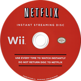 Netflix Instant Streaming Disc Wii disc (SNTEXN)