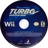 Turbo: Super Stunt Squad Wii disc (SOSEG9)