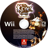 The Kore Gang: Outvasion From Inner Earth Wii disc (SP5E70)