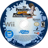 The Penguins of Madagascar: Dr. Blowhole Returns Again! Wii disc (SP8E78)