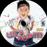 Let's Paint Wii disc (SPUE20)