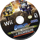 Gunblade NY & LA Machineguns: Arcade Hits Pack Wii disc (SQDE8P)