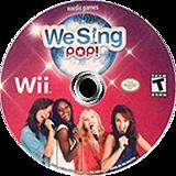 We Sing Pop! Wii disc (SQEENG)