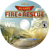Disney Planes: Fire & Rescue Wii disc (SQQEVZ)