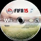 FIFA 15 Wii disc (SQVE69)