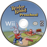 Reader Rabbit Preschool Wii disc (SR9EHG)
