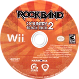 Rock Band: Country Track Pack 2 Wii disc (SRCE69)