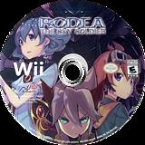 Rodea the Sky Soldier Wii disc (SROENS)