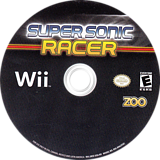 Super Sonic Racer Wii disc (SRSE20)