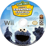 Sesame Street: Cookie's Counting Carnival Wii disc (SS4EWR)