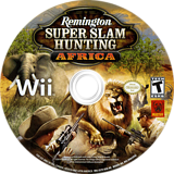 Remington Super Slam Hunting: Africa Wii disc (SS7EFP)