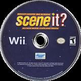 Scene It? Bright Lights! Big Screen! Wii disc (SSCEPM)