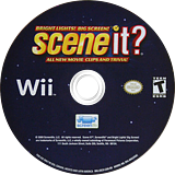 Scene It? Bright Lights! Big Screen! Wii disc (SSCXPM)