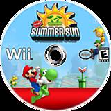 New Super Mario Bros. Wii: Summer Sun CUSTOM disc (SSSE01)