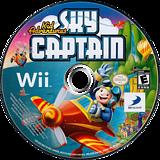 Kid Adventures: Sky Captain Wii disc (SSTEG9)