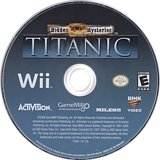 Hidden Mysteries: Titanic Wii disc (STTE52)