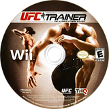UFC Personal Trainer: The Ultimate Fitness System Wii disc (SU4E78)