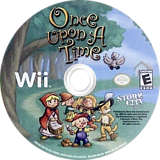 Once Upon A Time Wii disc (SUTESZ)