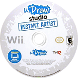 uDraw Studio: Instant Artist Wii disc (SUUE78)