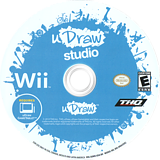 uDraw Studio Wii disc (SUWE78)