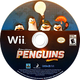 Penguins of Madagascar Wii disc (SV7EVZ)