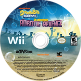 SpongeBob SquarePants: Plankton's Robotic Revenge Wii disc (SVDE52)