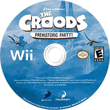 The Croods: Prehistoric Party! Wii disc (SVVEG9)