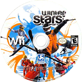 Winter Stars Wii disc (SW3EJJ)