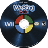 We Sing 80s Wii disc (SW8ENG)