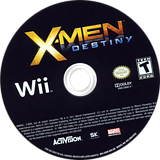 X-Men Destiny Wii disc (SX8E52)
