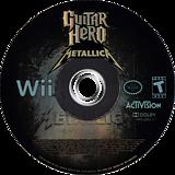 Guitar Hero: Metallica Wii disc (SXBE52)