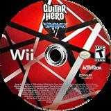 Guitar Hero: Van Halen Wii disc (SXDE52)
