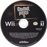 Guitar Hero 5 Wii disc (SXEE52)